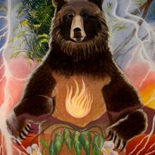 K326-G Standing Bear
