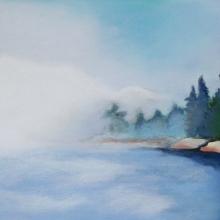 K344 Curtis Cove Fog Bank