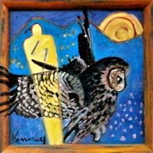 K215 Owl Hunts No. 2