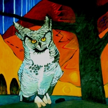 K267 Owl Waits